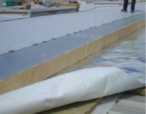 panneau polyuréthane toiture terrasse